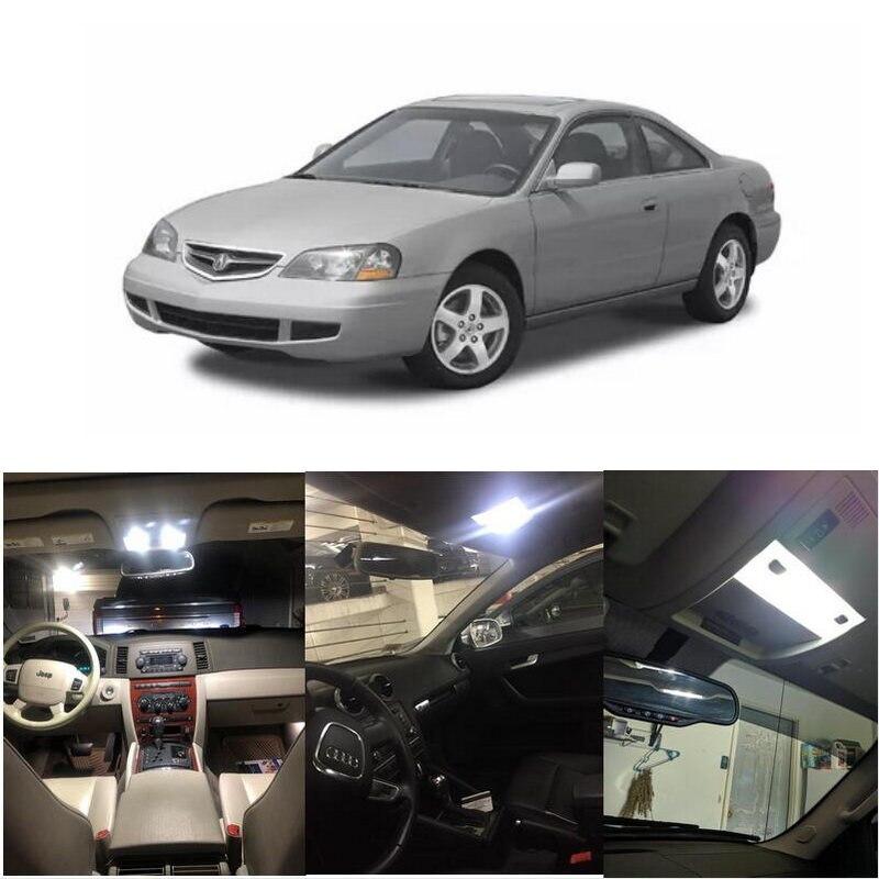 Interior luces Led para 2003 Acura CL MDX NSX RL TL RSX EL licencia placa domo de luz Luz de mapa