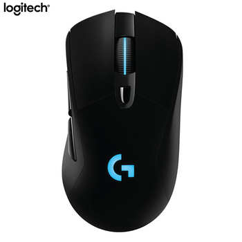 Logitech G703 LIGHTSPEED Wireless Gaming Mouse 2.4Ghz Optical Ergonomic Mouse 12000DPI RGB POWERPLAY Charging Mice for PC Laptop