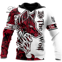 Wolf Printed Hoodies Men 3d Hoodies Brand Sweatshirts Jackets Quality Pullover Fashion Tracksuits Animal Streetwear Out Coat-14 hampson lanqe animal wolf printed men hoodies sweatshirts 2019 warm fleece coat brand punk hoodie harajuku men s jackets cm01