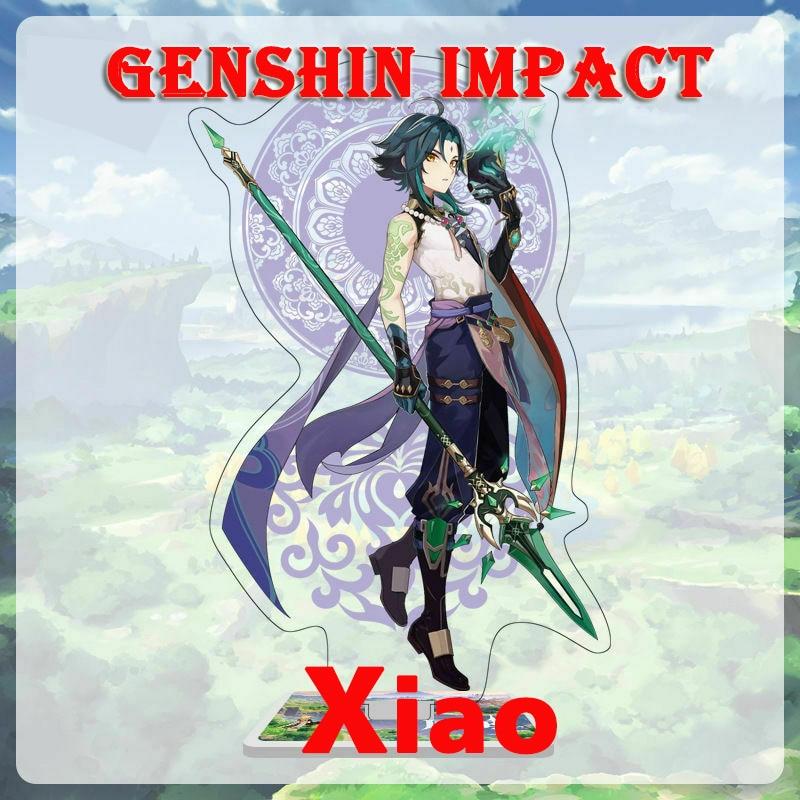 Аккаунт Genshin Impact, Xiao Asia/Europe/America Ganyu Diluc Childe Keqing Qiqi Mona Venti 5 звезд, стартовый аккаунт