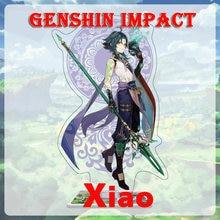 Genshin conta de impacto xiao ásia/europa/américa ganyu diluir childe keqing qiqi mona venti 5 estrelas starter conta