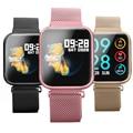 Wearpai P80 Смарт-часы монитор сердечного ритма, Блютуз, умный Браслет напоминание шагомер Фитнес трекер спортивные для телефона