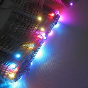 Image 4 - 50x Pre soldered WS2812B LED Heatsink 5V 5050 RGB WS2811 IC Built in & 10cm Wire