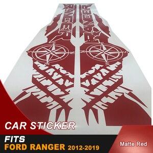 Image 5 - Pneumatico stampa bussola avventura off road vinile grafica decalcomanie adesivi per auto misura per Ford Ranger e wildtrack Letto box