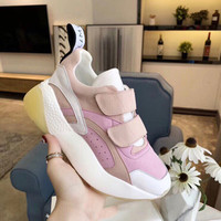 Single shoes women 2020 ladies new spring an summer comfortable breathable mesh shoes casual outdoor thick bottom sports shoes