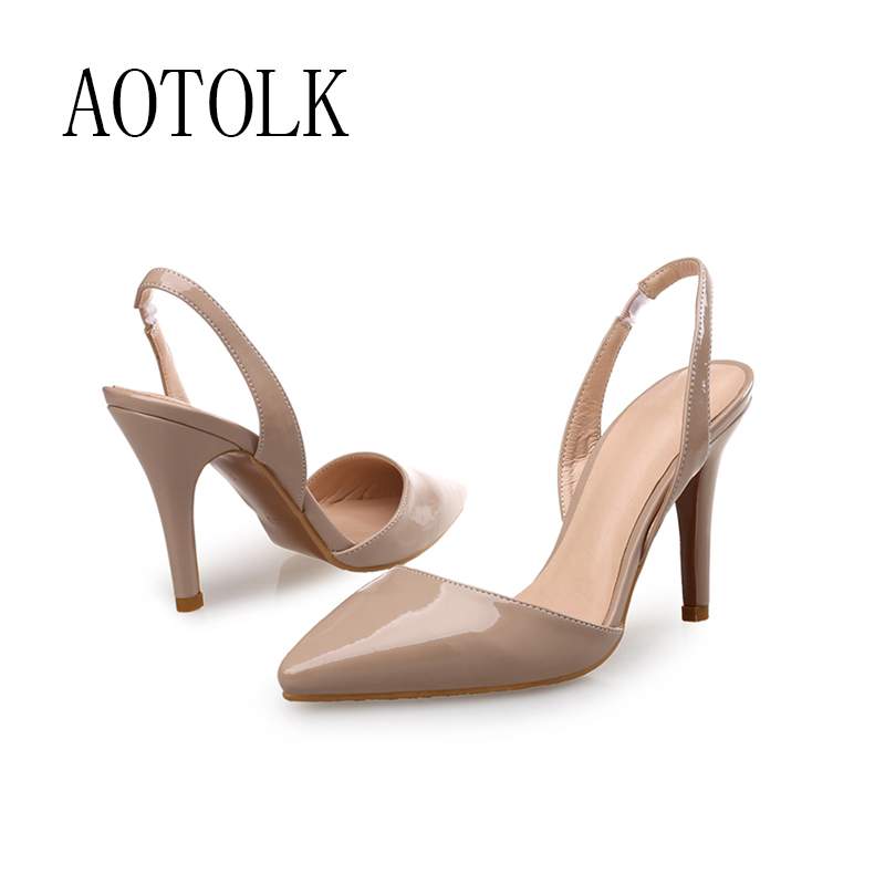 Women Pumps Female Shoes High Heels Colorful PU Lace Up Heeled Shoes For Women Brand Dress Shoes Wedding Shoes 2020 New DE