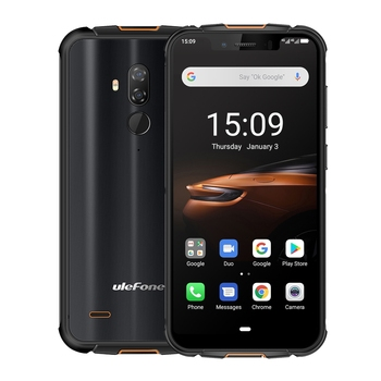 "Ulefone Armor 5S Rugged Mobile Phone Android 9.0 Pie 5.85"" IPS MTK6763 Octa Core 4GB+64GB Smartphone OTG NFC Wireless Charge 4G"
