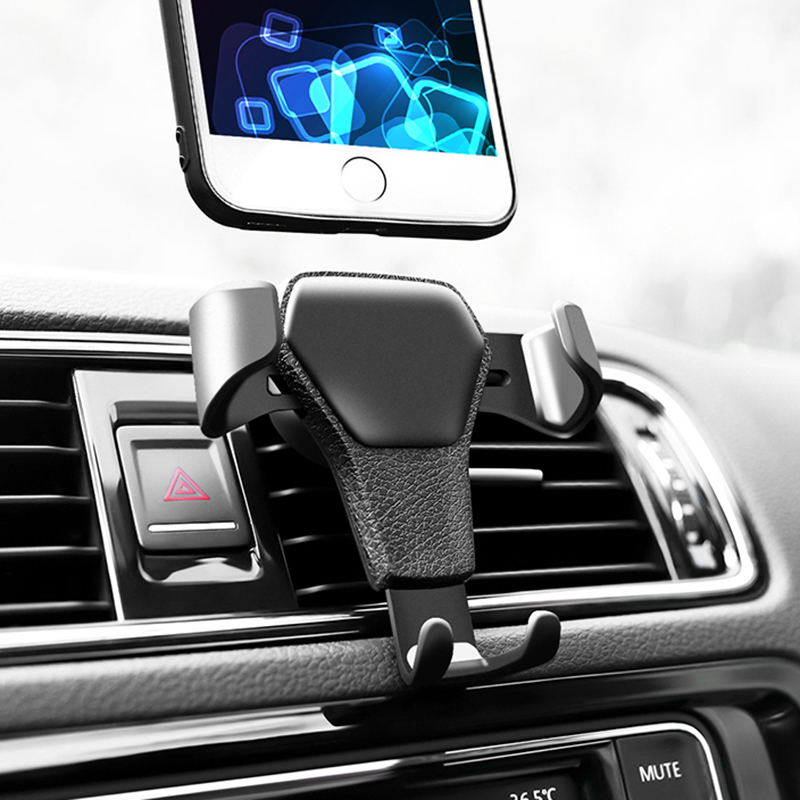 Car Phone Holder Air Vent Mount Car Holder Mobile Supports All Mobile Phone For IPhone 11 X XS 7 8 Xiaomi Samsung Phone Stand