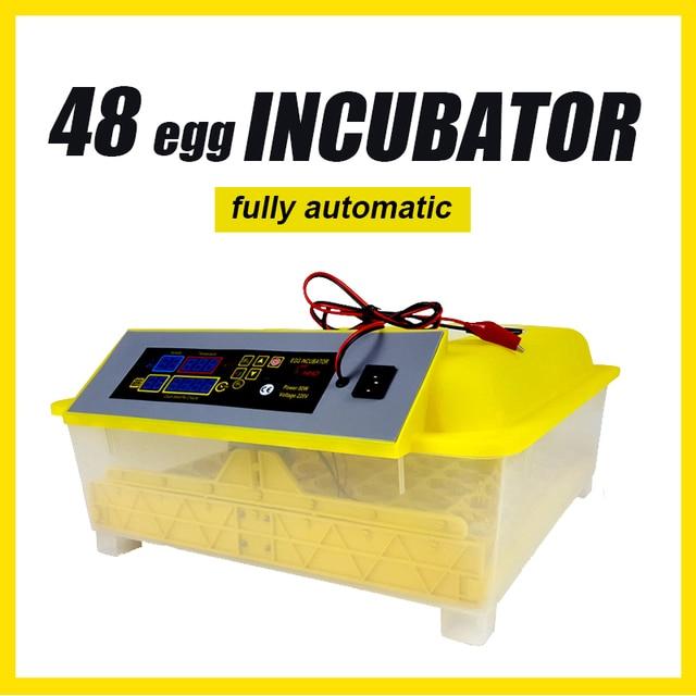 48 Egg Incubator Fully Automatic 12V - 220V Large Capacity  1