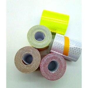 Image 4 - Ruban réfléchissant avec tissu réfléchissant, 5cm x 3m, ruban adhésif réfléchissant, Film de voiture, nid dabeille de cristal, 30 mm