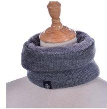 2021 nova moda feminina lenço de malha inverno sólido snood cachecóis senhora lã quente pele grossa unisex pescoço cachecóis