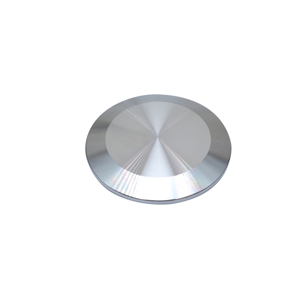 "Silver 38mm Sanitary End Cap fits 1.5/"" Tri Clamp with Ferrule Flange 50.5mm 304"