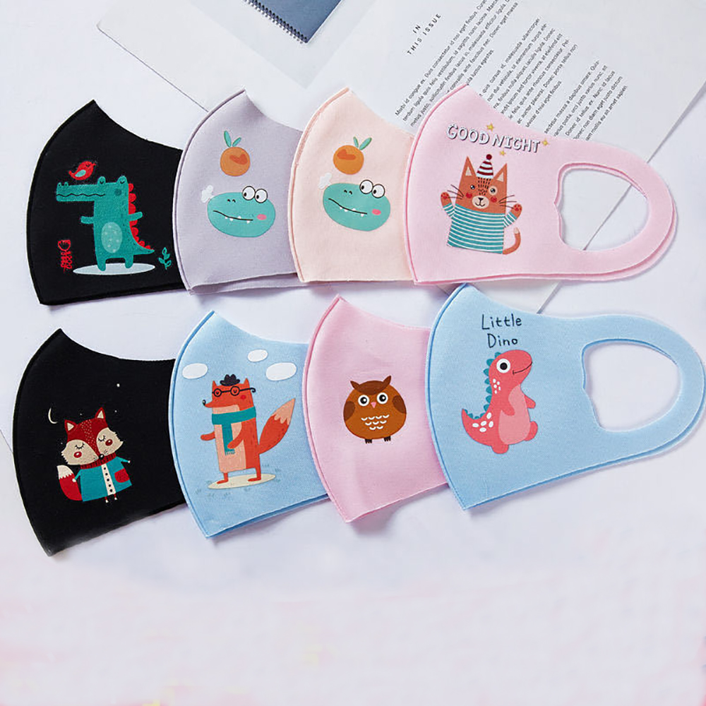 Professional Mouth Mask Pad Kids Breath Valve Anti Haze Breathable Mask Anti Dust Mouth-Muffle Respirator Face Masks Children