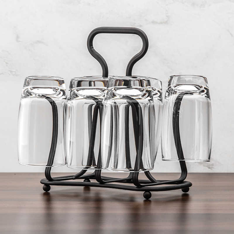 Glass Cup Rack Water Mug Draining Drying Organizer Drain Drinking Holder LD