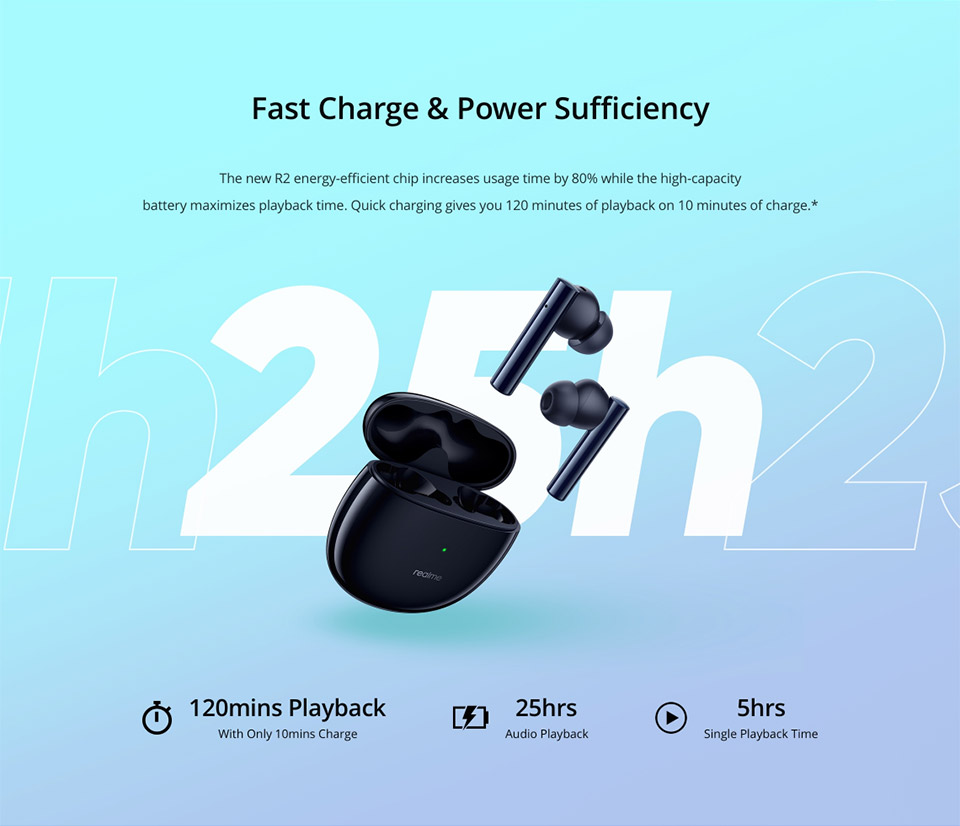 Realme Buds Air 2 with Active Noise Cancellation 6
