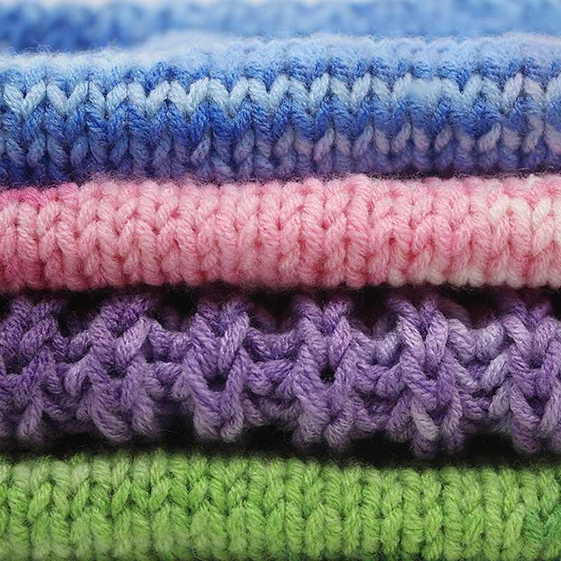 1Pcs 22 색상 정전기 방지 양모 크로 셰 뜨개질 원사 스웨터 우유 코튼 원사 소프트 편직 아기 DIY 핸드 편직 용품