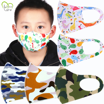 For 4-12 Years old Kids Mouth Mask Dust Children Face Masks Washable & Reusable Student Kids Mouth Mask