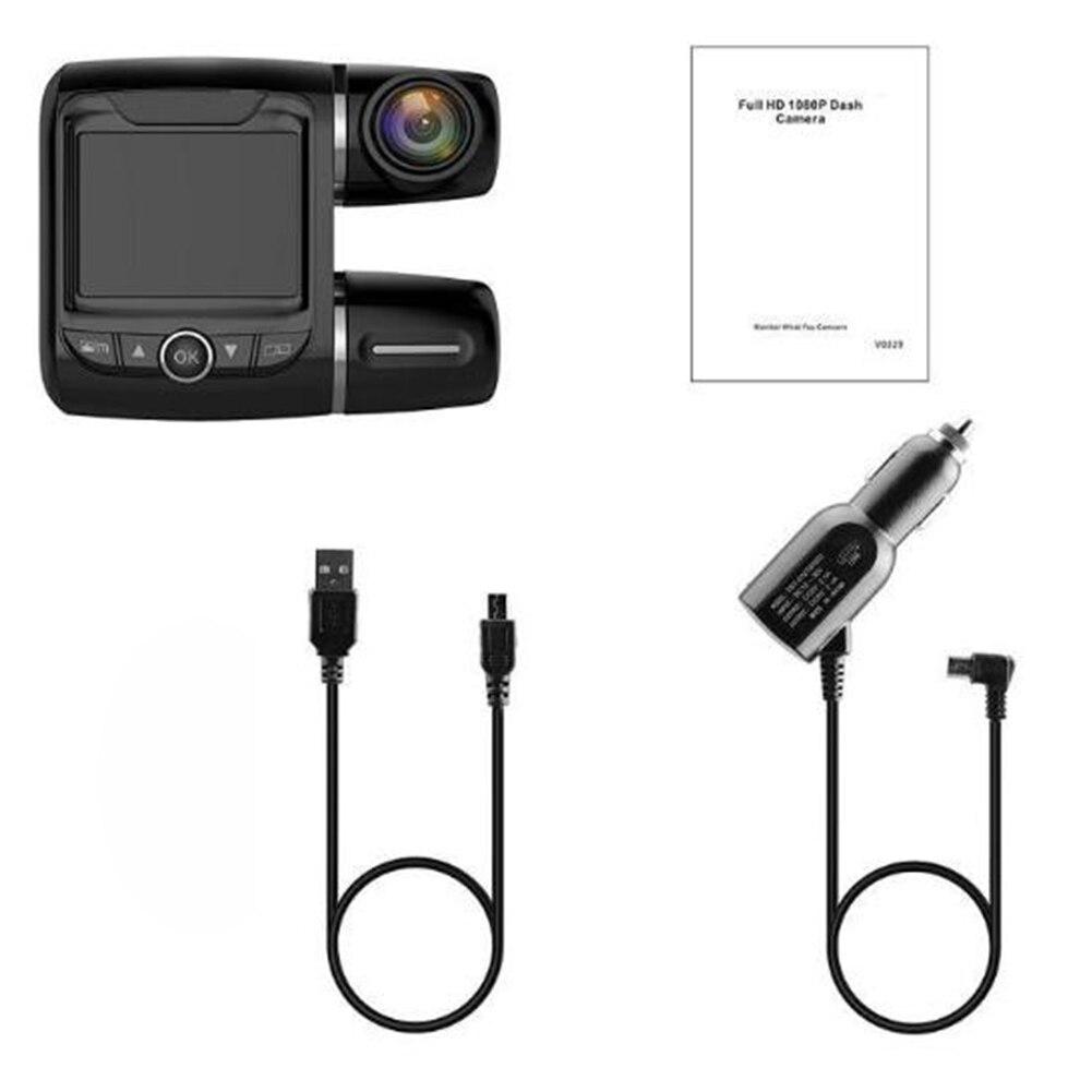 Recorder Driving Car-Dvr Dash-Camera Video Dual-Lens Night-Vision Portable 1080P Full-Hd