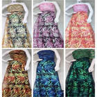 Tulle lace fabric se...