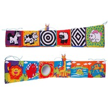 Crib Bumper Crib-Protector Baby-Bedding-Sets Educational Cot Room-Decor Mobile Newbron