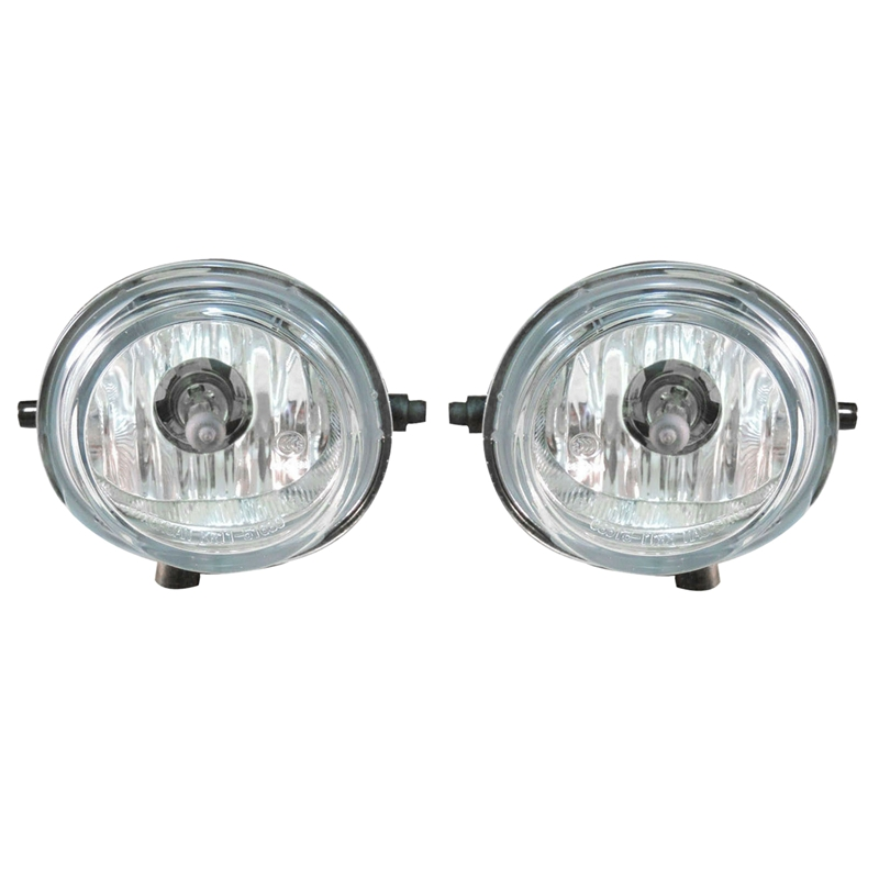 A Of Pair Front Bumper Fog <font><b>Lights</b></font> Lamps Bulbs for <font><b>Mazda</b></font> 3 <font><b>6</b></font> 5 MX-5 Miata CX-7 image
