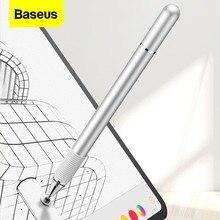 Baseus قلم مستدق الطرف بالسعة اللمس القلم ل أبل آيفون سامسونج باد برو الكمبيوتر اللوحي قلم شاشة اللمس الهواتف المحمولة قلم رسم القلم
