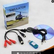 8В1 USB кабель для симулятора полета Phoenix RealFlight G4, XTR, AeroFly, FMS для Futaba ESky JR WFLY 4-8Ch Skill Traning