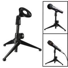 Soporte de micrófono soporte de trípode de escritorio soporte de micrófono inalámbrico con cable soporte de micrófono E300 soporte de micrófono para escritorio