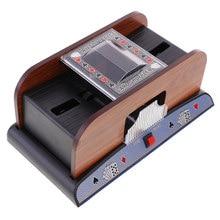 Carta automatico Shuffler, 2 Carte di Sorter, Tavolo di Poker Shuffler Elettrico A Batteria