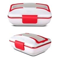 Caixa de almoço  aquecedor de almoço de aquecimento elétrico portátil com recipiente de aço inoxidável removível aquecedor de alimentos e um carregador de carro|Lancheiras| |  -