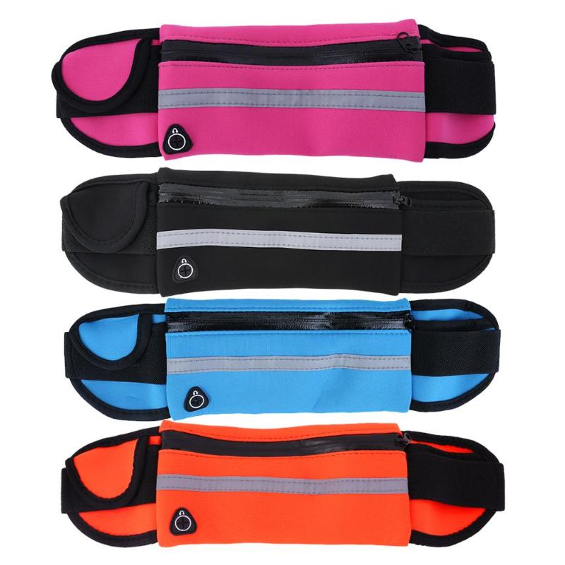 5.5inch Outdoor Running Waist Bag Waterproof Mobile Phone Holder Jogging Belt Belly Bag Gym Fitness Bag Lady Sport Accessories