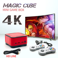 New Mini Retro Game Console Arcade PS1 FC Video Game Player Home BOX with 1500+ games 4K HD TV gaming consoles MP4 players