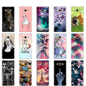 Silicon Case For Samsung Galaxy J7 2016 Case J710 J710F Soft TPU Back Phone Cover FOR Samsung J7 2016 Protective Coque Bumper