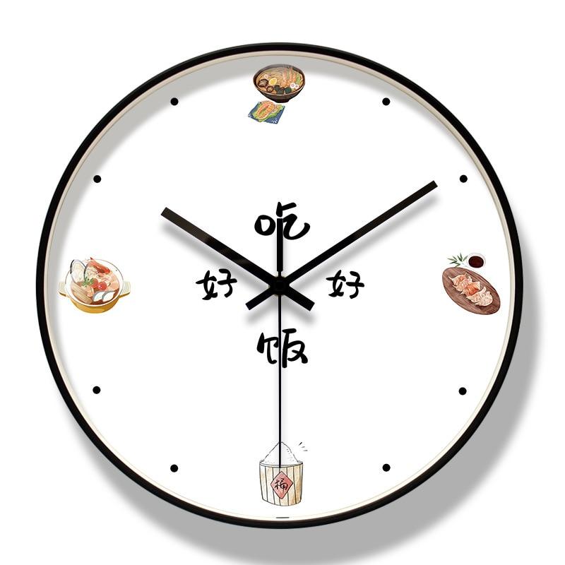 Nordic Style Wall Clock Glass Cute Large Analog Wall Watch Modern Design Wall Clocks Decorative Watches Living Room 2020 II50BGZ