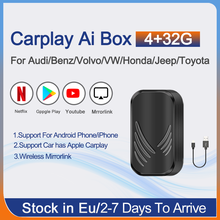 Для Apple Android TV Mirrorlink Carplay беспроводной ключ для Audi для Benz Toyota Bmw VW Volvo Carplay Plug And play видео Ai Box