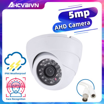 New AHD Camera 720P/1080P/3MP/4MP/5MP CCTV Security AHD 5MP Camera HD 5.0MP IR-Cut Night vision Indoor surveillance camera mini cctv ahd camera 5mp 4mp 3mp 1080p sony imx326 full digital hd ahd h 5 0mp in outdoor waterproof ir night vision have bullet