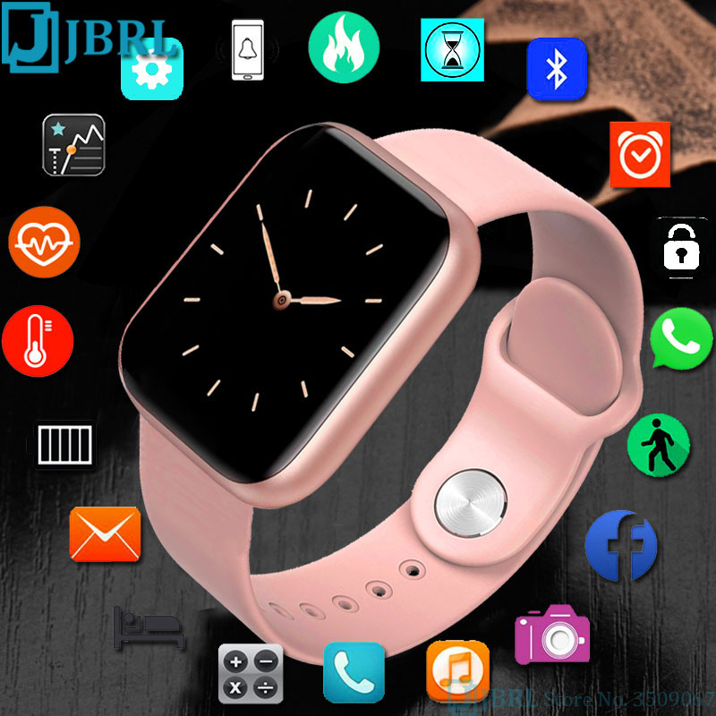Full Touch Watch Children Kids Watches For Girls Boys Wrist Watch Child Bluetooth Clock  Students Electronic Digital Wristwatch