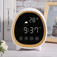WIFI Smart Air 200ml Ultraschall Aroma Ätherisches Öl Diffusor Home Digital Display Zeit Wetter Aromatherapie Zerstäuber