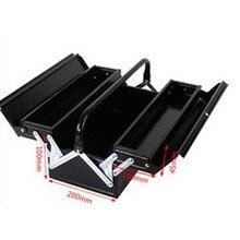 Железный металлический ящик для инструментов многофункциональный оловянный сундук ящик для хранения Чемодан No. Ящик для инструментов