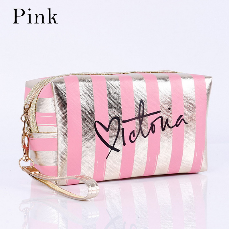 Fashion Waterproof Laser Cosmetic Bags Women Handbag Portable Travel Makeup Bag Pouch Organizer Toiletry Kit Bag Make Up Bag