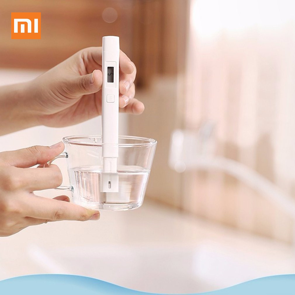 Original Xiaomi MiJia Mi TDS Meter Tester Portable Detection Water Purity Quality Test EC TDS-3 Tester D5# image