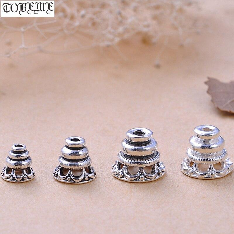 100% 925 Silver Tibetan Guru Bead Tower Sterling SilverTibetan Mala's Guru Tower Mala's Findings Bead