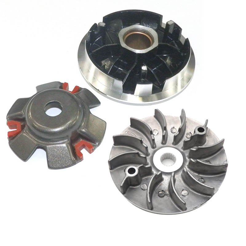 High Performance Sport Racing Variator Front Clutch + Drive Face Fan fo for GY6 125cc 150cc Scooter 152QMI 157QMJ