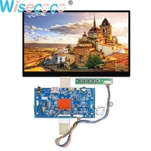 Wisecoco 10.1 Inch 4K UHD 3840×2160 LCD Display 450 nits IPS Screen EDP 40 PINS with HDMI MIPI Driver Board for Tablet(China)