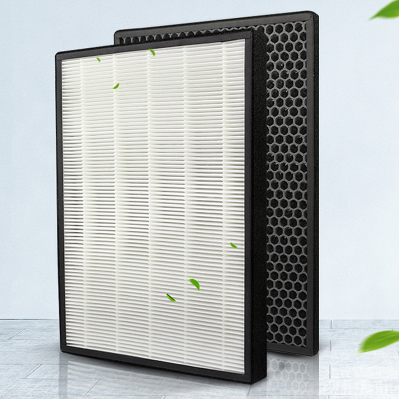 For FY3433 FY3432 AC3256 AC3260 Air Purifier Filter + Carbon Filter Screen Easy Removed And Replaced