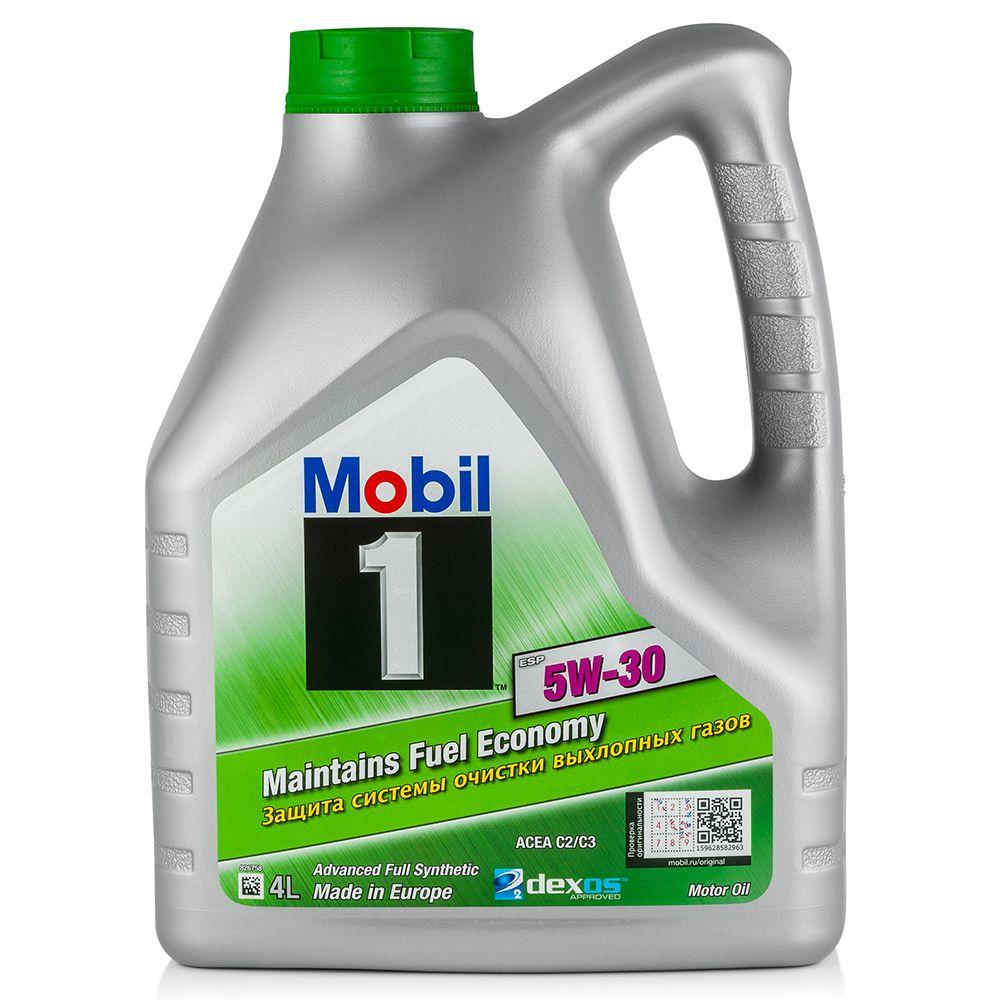 Моторное масло MOBIL ESP 5W30 4L (154285)