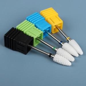 1 шт. керамическая фреза для маникюра фрезы для ногтей фрезы для машинки для маникюра электрические пилки для ногтей фрезы Резак Принадлежности для дизайна ногтей      АлиЭкспресс