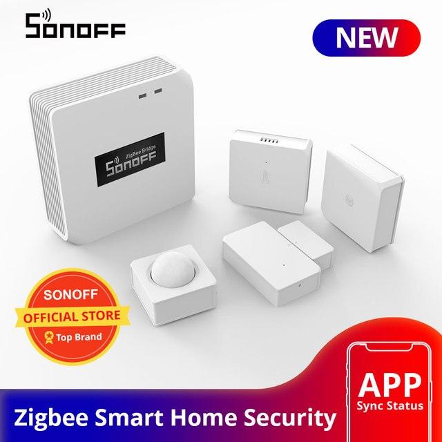 SONOFF Zigbee Bridge /Wireless Switch / Temperature And Humidity Sensor/Motion Sensor /Wireless Door Window Sensor Zigbee 3.0 1