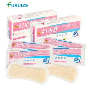 Image 1 - 5 caixa = 50 pçs atacado almofadas de ervas forro de calcinha feminino higiene almofada ginecológica cuidados de saúde do sexo feminino almofadas sanitárias de ervas chinesas