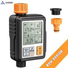 Ekran LCD elektroniczny automatyczny czasowy wyłącznik przepływu wody sterownik zraszacza ogrodowa urządzenie do automatycznego nawadniania narzędzia do nawadniania